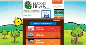 ReadingBearWebsiteScreenshot